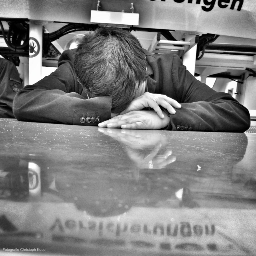Sleeping Man  (Hamburg, Germany)